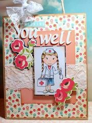 Get Well - Altered Gift Bag