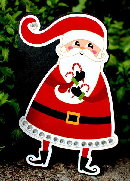 Santa Card *Imaginisce*