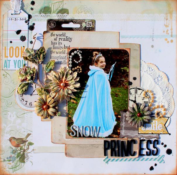 Snow Princess *Flying Unicorn*