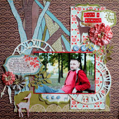 Take a Moment *December Paper Lovelies Kit*