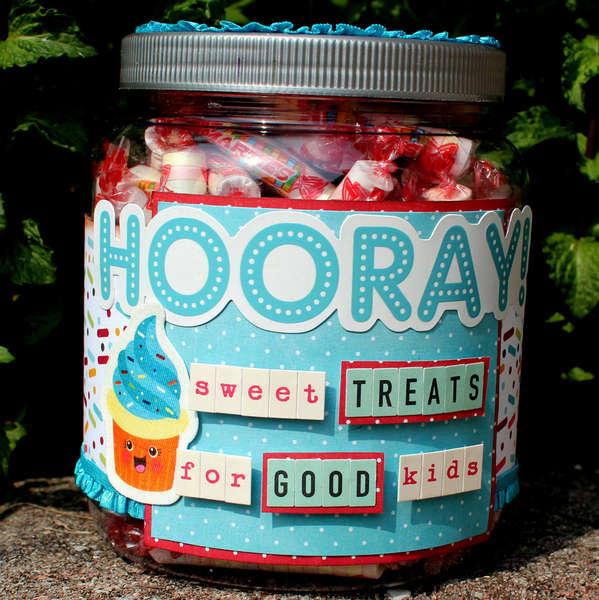 Altered Candy Jar *Imaginisce*