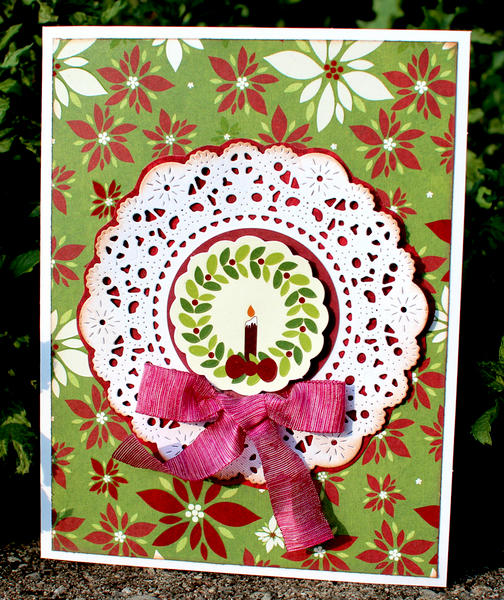 Wreath Card *Imaginisce*