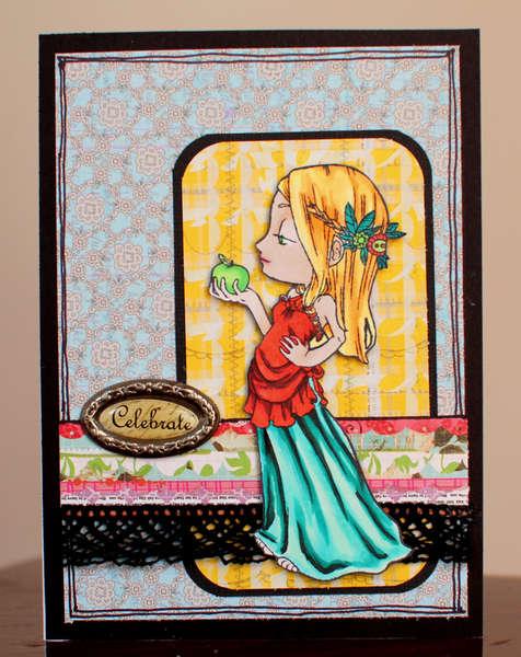 Celebrate Card *Some Odd Girl*