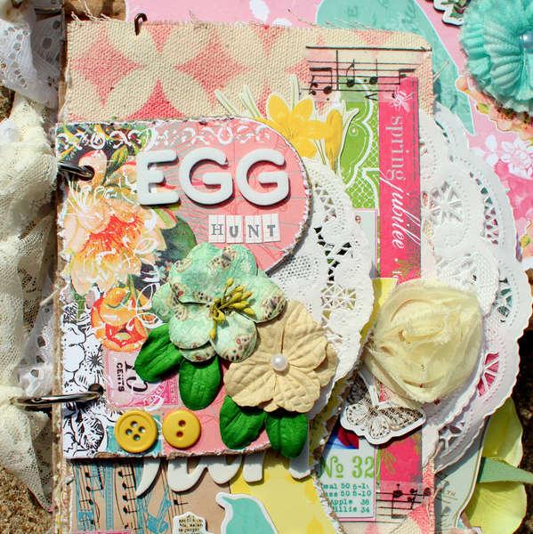 EGG Hunt Mini Album *Punky Sprouts*
