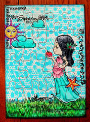 Puzzle Card *Some Odd Girl*