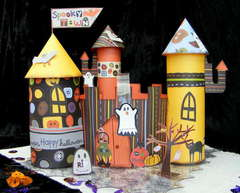 spooky town godie haunted castle