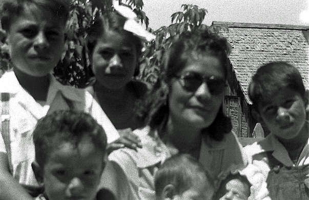 Aunt with Brothers and sisters Velasquez Family