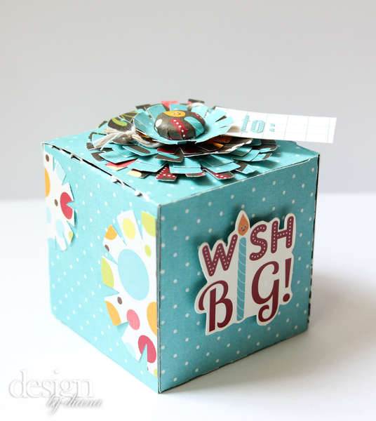 Wish big gift box