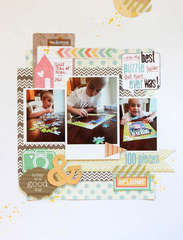 Puzzled {scrapbook circle kit club}
