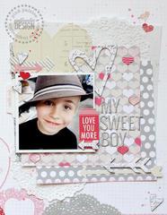 My Sweet Boy *Pink Paislee*
