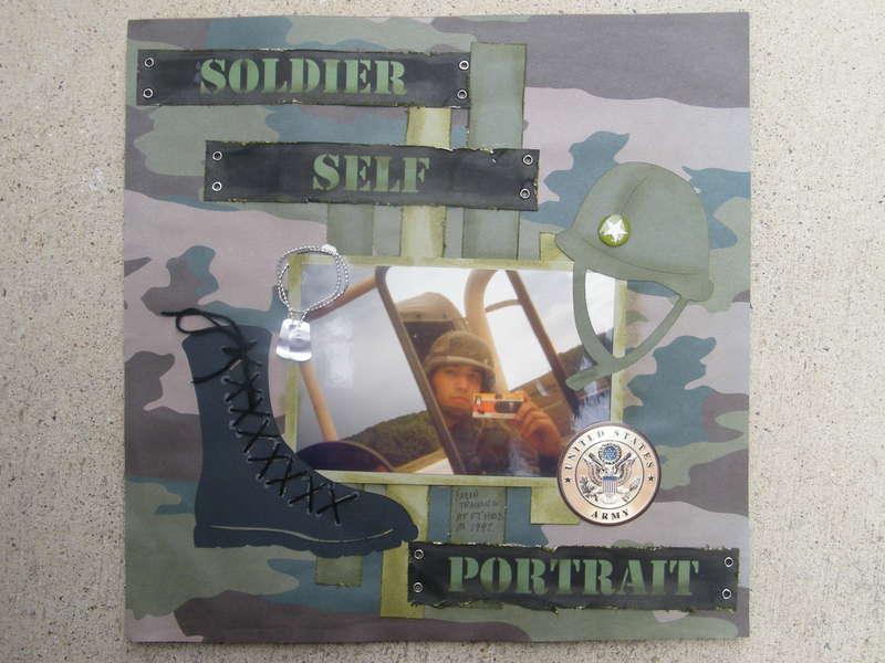 Soldier Self Portrait