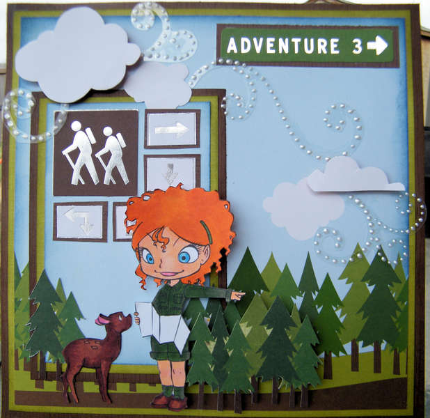 Adventure Card ~Simply B Stamps~