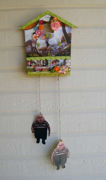 Time for Tea Cuckoo Clock