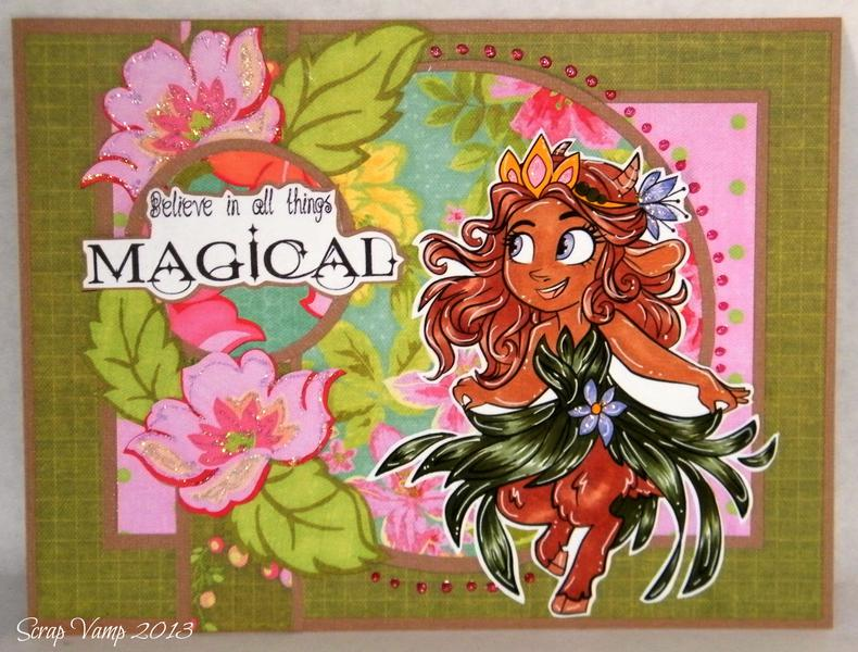 Believe in All Things Magical ~Simply B Stamps~