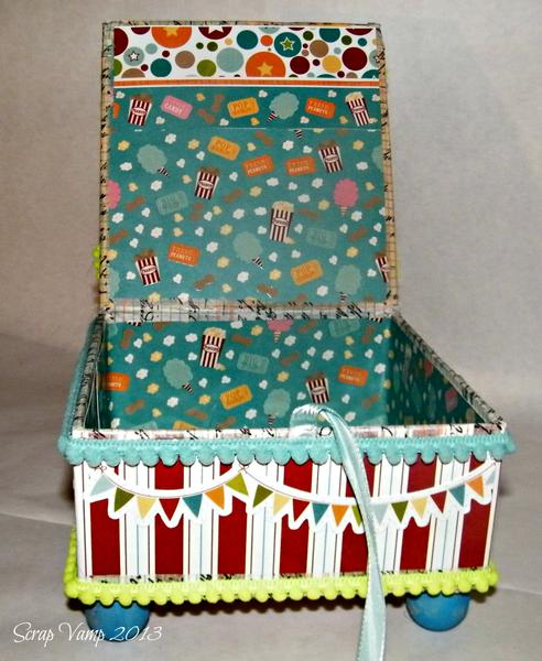 Circus Box Inside ~Simply B Stamps~