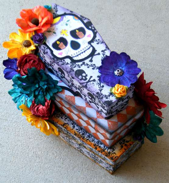 31 Days of Halloween - Nesting Coffin Set