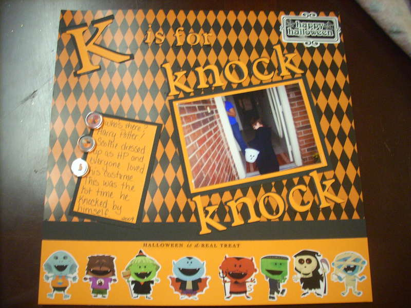 K is for Knock Knock