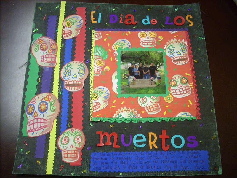 El Dia de los Muertos (Day of the Dead)
