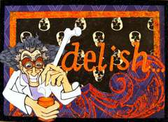 Delish...Card ~Smeared Ink~
