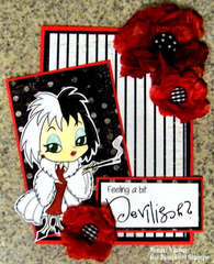 Feeling a Bit Devilish? ~Simply B Stamps~