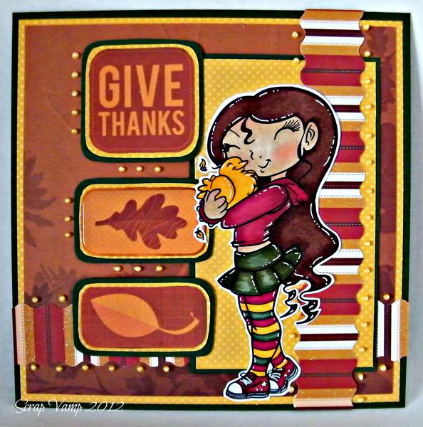 Give Thanks ~Simply B Stamps~
