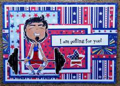 I am Pulling For You Card ~Simply B Stamps~