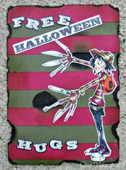 Free Halloween Hugs ~Smply B Stamps~