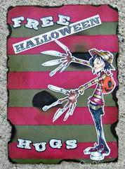 Free Halloween Hugs ~Smply B Stamps~