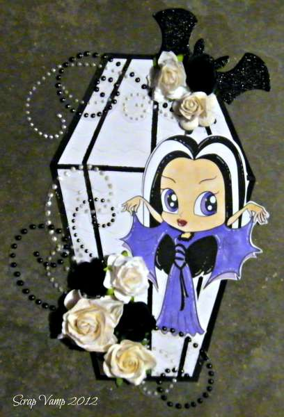 Little Betty Munster Card ~Simply B Stamps~