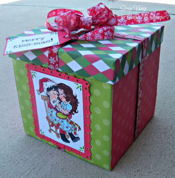 Mr and Mrs Claus Gift Box ~Simply B Stamps~