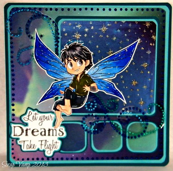 Let Your Dreams Take Flight ~Simply B Stamps~