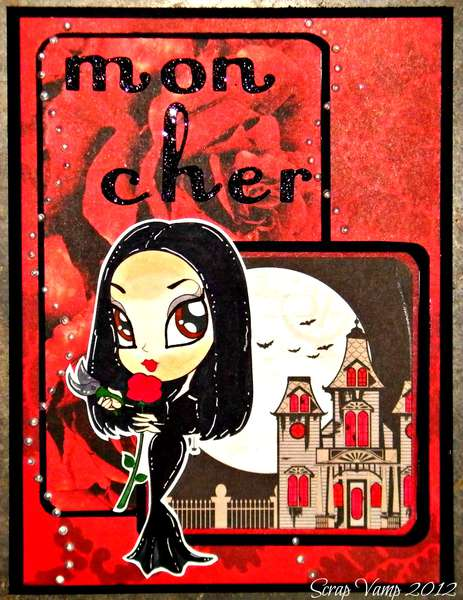 Mon cher (My Love) ~Simply B Stamps~