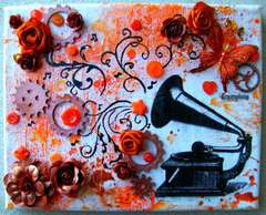 Music Canvas ~Punky Scraps~