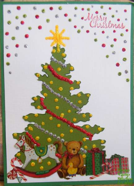Toys Under the Tree Card
