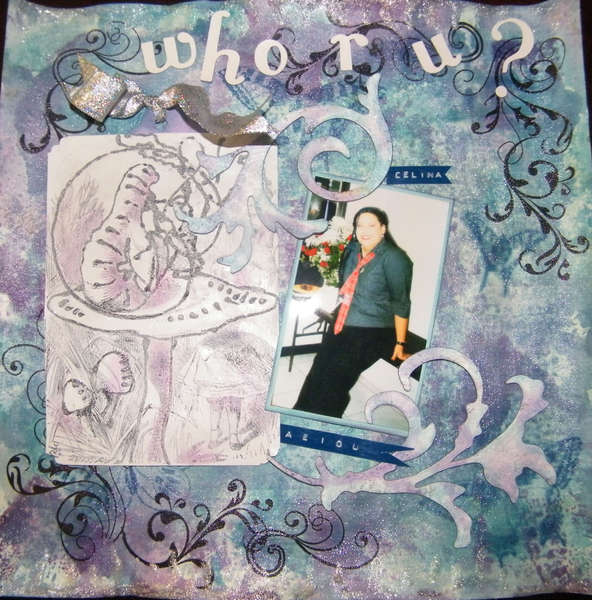 Who R U? #1 of 12 Layouts of Alice