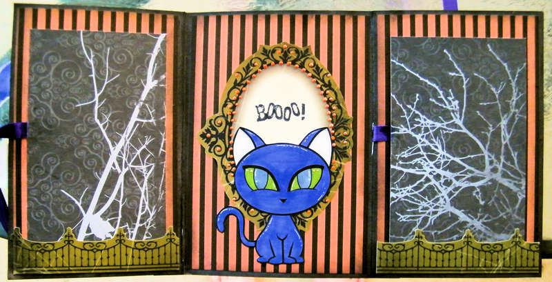Witch Betty Card Inside ~Simply B Stamps~