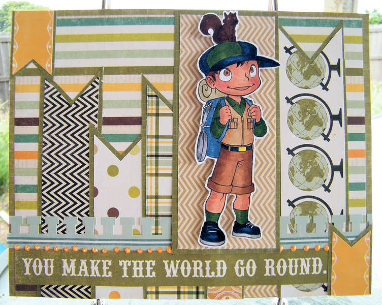 You Make the World Go Round ~Simply B Stamps~