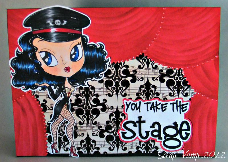 You Take the Stage ~Simply B Stamps~