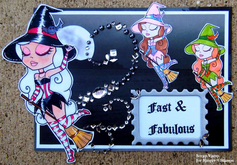 Fast & Fabulous ~Simply B Stamps~