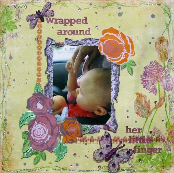 Wrapped Around Her Little Finger *Scraps of Darkness*