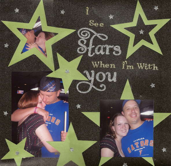 I see Stars when I'm with You