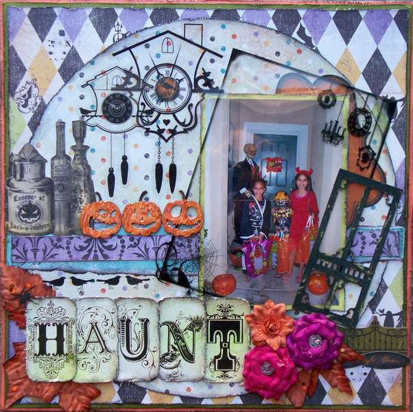 Scraps of Darkness & Sketches: Creatively Yours ~ Haunt