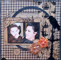 Scraps Of Darkness *October kit* ~ Spook