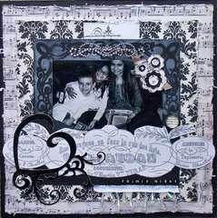 Scraps of Darkness *Feb Kit* ~ Family Night