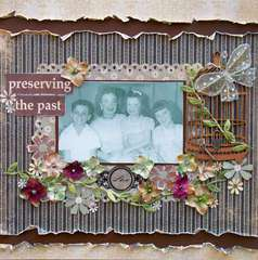 Preserving the Past ~ Scraps of Darkness