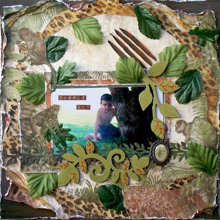 Scraps of Darkness *June Kit*~ Jungle Boy