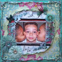 Scraps of Darkness *July Kit* ~ Ooh La La