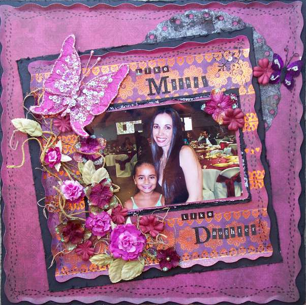 Scraps of Darkness *July Kit* ~ Like Mother Like Daughter