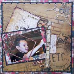Scraps of Darkness *Sep Kit* ~ No. 1