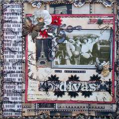 Scraps of Darkness *Sep Kit* ~ Old Fasioned Divas